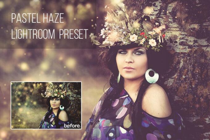 Adobe Lightroom Free Preset .xmp .lrtemplate 無料 フリー エモい パステル Pastel Haze