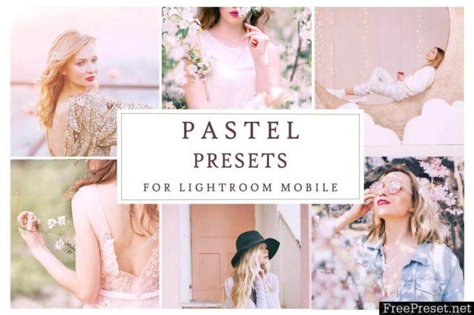 Adobe Lightroom Free Preset .xmp .lrtemplate Pastel 無料 フリー パステル Lightroom Mobile PASTEL PRESETS