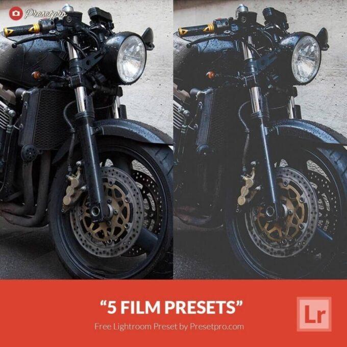Adobe Lightroom Free Preset .xmp .lrtemplate 無料 フリー マット 5 Free Lightroom Presets Retro Film