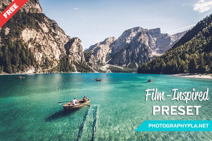Adobe Lightroom Free Preset .xmp .lrtemplate 無料 フリー フィルム レトロ Free Film-Inspired Lightroom Preset