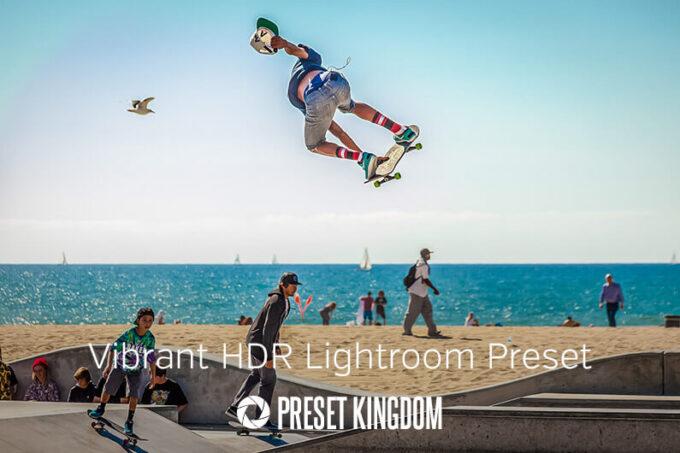 Adobe Lightroom Free Preset .xmp .lrtemplate 無料 フリー ハイダイナミックレンジ Free Vibrant Colors HDR Lightroom Preset