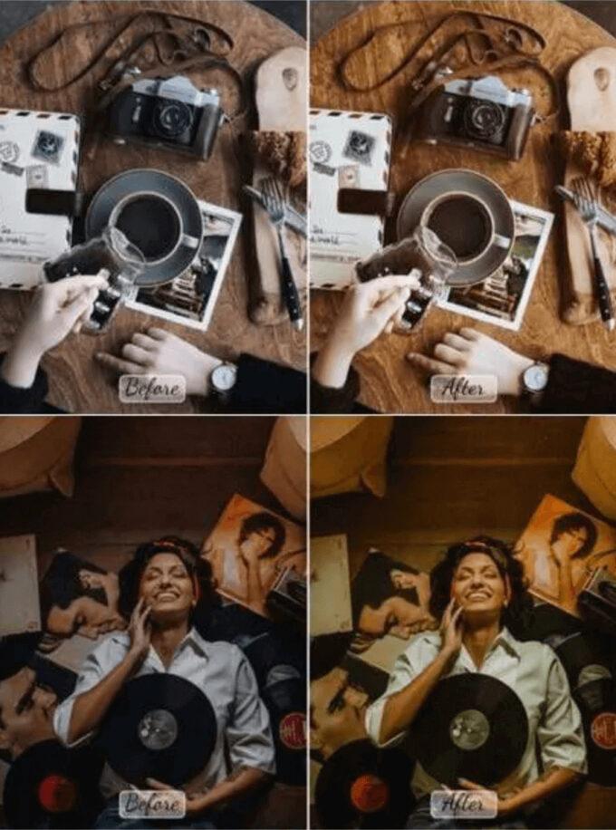 Adobe Lightroom Free Preset .xmp .lrtemplate Film Retro Vintage 無料 フリー フィルム レトロ ヴィンテージ 10 Pro Retro Mobile Desktop Lightroom