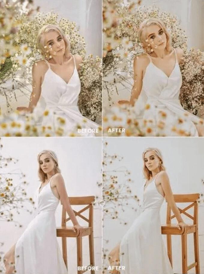 Adobe Lightroom Free Preset .xmp .lrtemplate Wedding Bridal 無料 フリー 結婚式 ブライダル ウェディング Vintage Mood Photoshop Action & Lightrom Presets