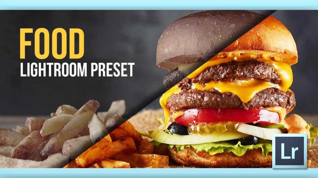 Adobe Lightroom Free Preset Food .xmp .lrtemplate matte 無料 フリー フード 食べ物