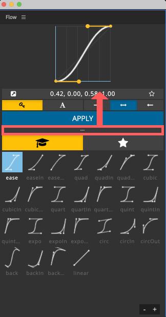 Adobe CC After Effects Plugin Flow グラフ サイズ 小さく