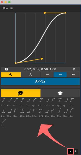 Adobe CC After Effects Plugin Flow プリセット サイズ 小さく