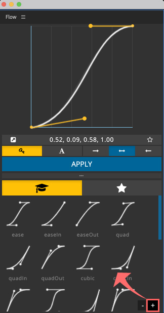 Adobe CC After Effects Plugin Flow プリセット サイズ 大きく