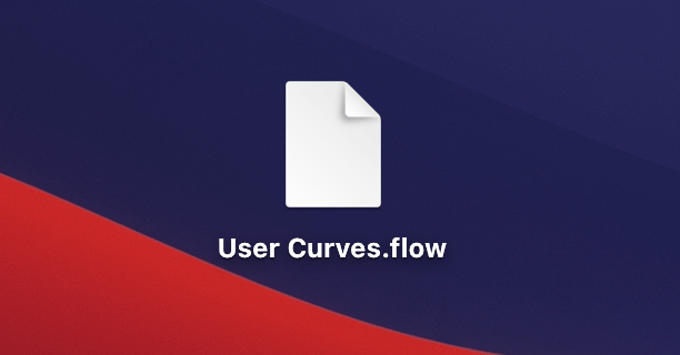Adobe CC After Effects Plugin Flow User Curves User Library Export 書き出し エクスポート 方法