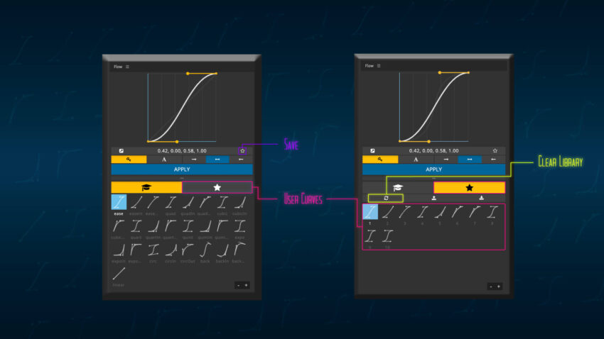 Adobe CC After Effects Plugin Flow too 機能 使い方 解説l