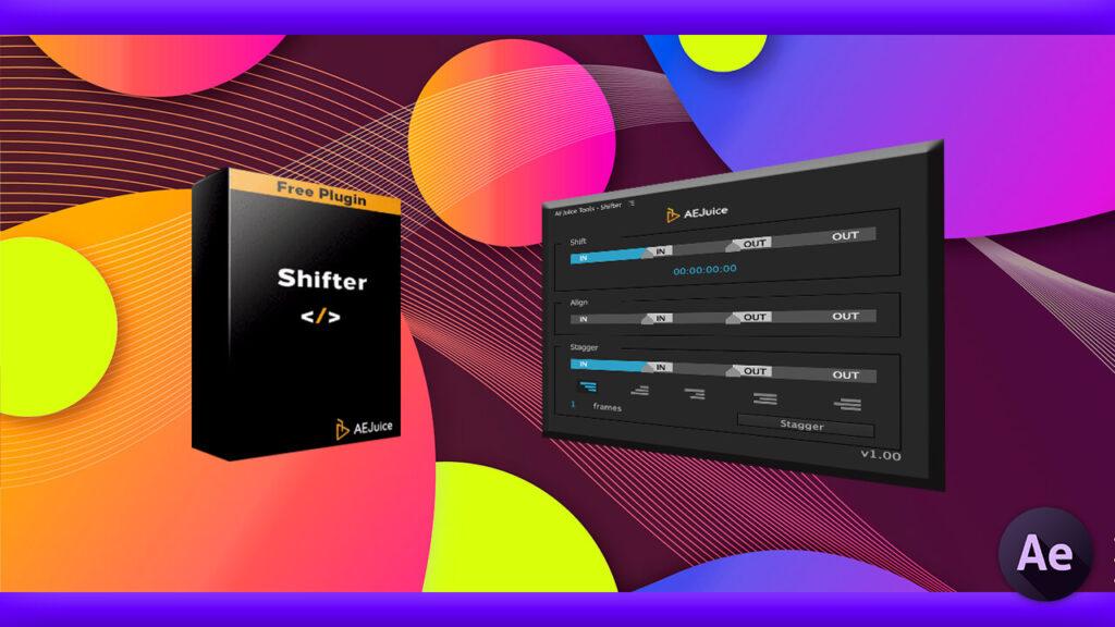 Adobe CC After Effects AE Juice Free Plugin 無料 Shifter 機能 使い方 解説