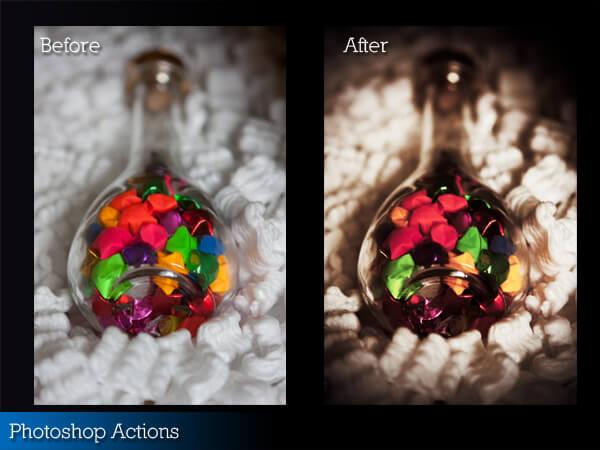 Adobe Photoshop Free Action Material フリー アクション 素材 LOMO ロモグラフィー トイカメラ Action 2