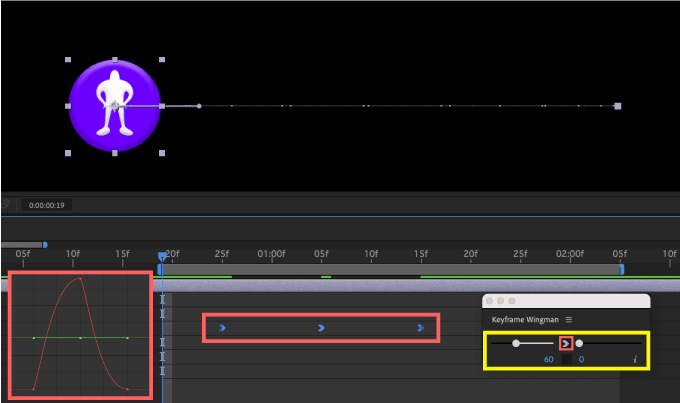 Adobe CC After Effects Animation Composer Starter Sounds 無料 機能 解説 Tools Keyframe Wingman Easy Ease In イージーイーズイン