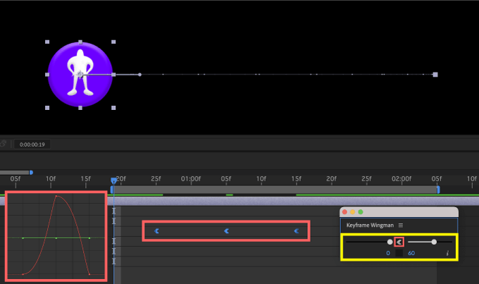 Adobe CC After Effects Animation Composer Starter Sounds 無料 機能 解説 Tools Keyframe Wingman Easy Ease Out イージーイーズアウト