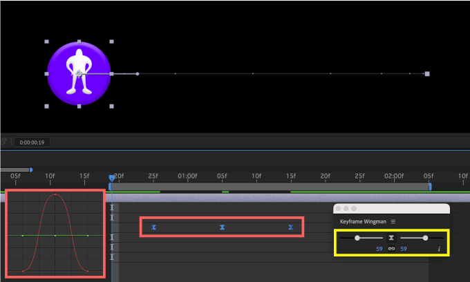 Adobe CC After Effects Animation Composer Starter Sounds 無料 機能 解説 Tools Keyframe Wingman Easy Ease イージーイーズ