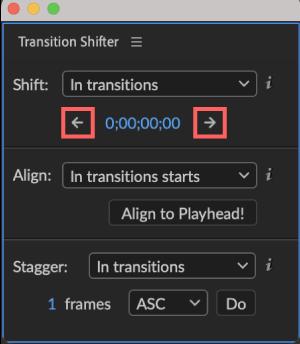 Adobe CC After Effects 無料 プラグイン Animation Composer Transition Shifter 解説 機能 無料 フレームレート 移動