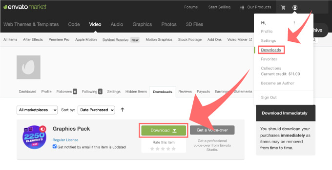 Adobe CC After Effects Toko Graphics 使い方 解説 買い方 購入 方法 ダウンロード