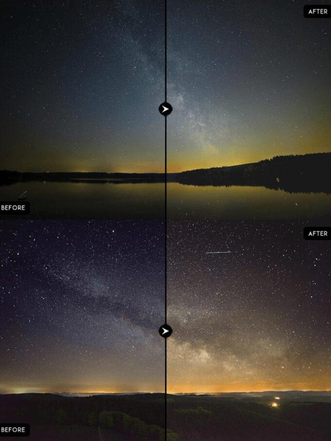 Adobe Lightroom Free Preset .xmp .lrtemplate 無料  星空 フリー Free Astro Photography Lightroom Presets