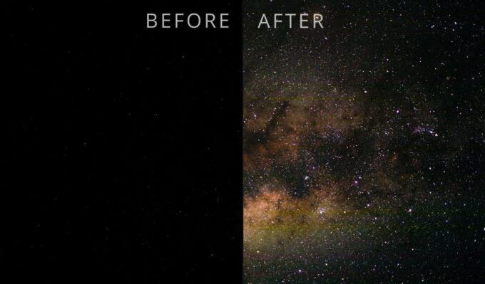 Adobe Lightroom Free Preset .xmp .lrtemplate 無料  星空 フリー Sky Explosion free Lightroom Preset