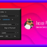 Adobe CC After Effects 無料 プラグイン Animation Composer Transition Shifter 解説 機能