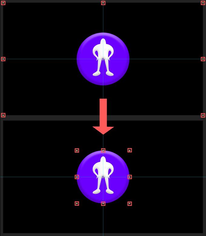 Adobe CC After Effects Auto Crop 機能 使い方 解説